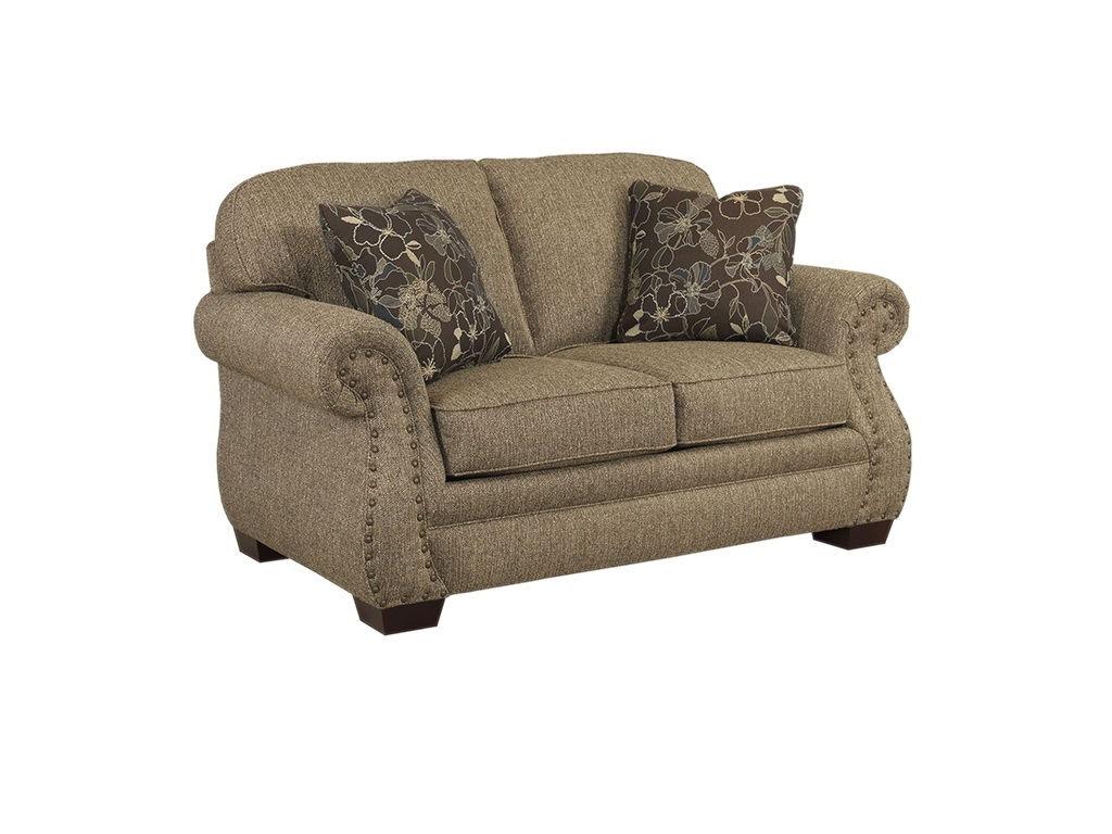 Broyhill Living Room Eldon Loveseat 3741 1