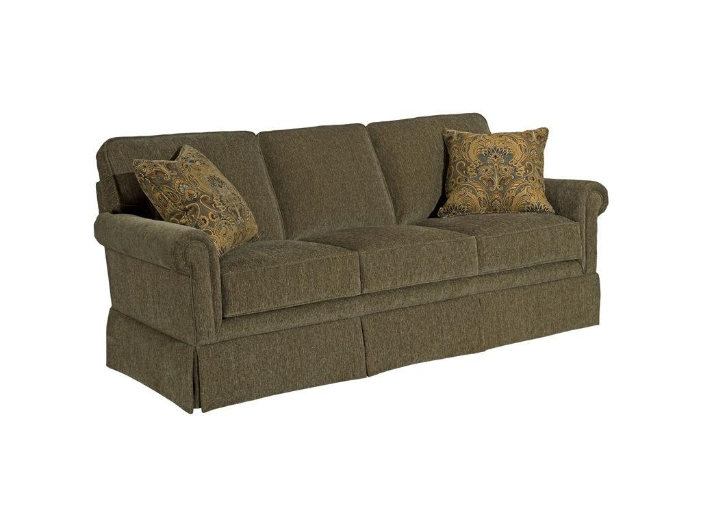 Broyhill Living Room Audrey 73u0026quot; Sofa 3762-2 - Carol House ...