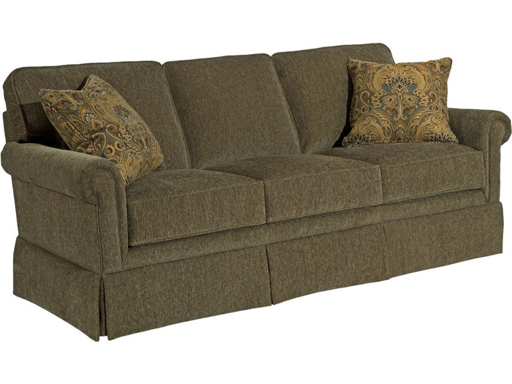 Broyhill living room audrey sofa sleeper 3762 7 lynch for 84 inch sofa