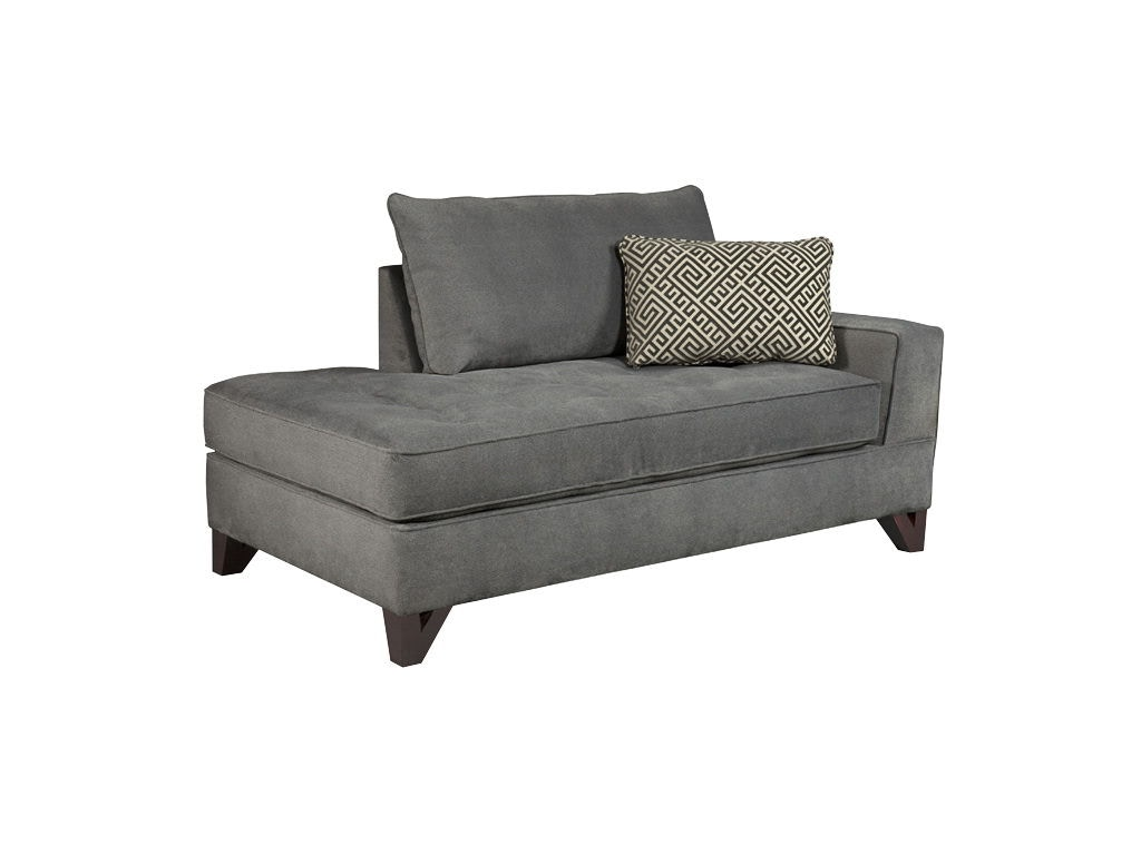 Broyhill living room atlas raf chaise 3770 8 hi desert for Broyhill caitlyn chaise