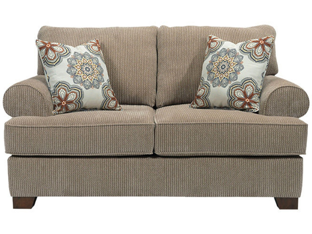 Broyhill living room serenity loveseat 4240 1 davis for Furniture wenatchee