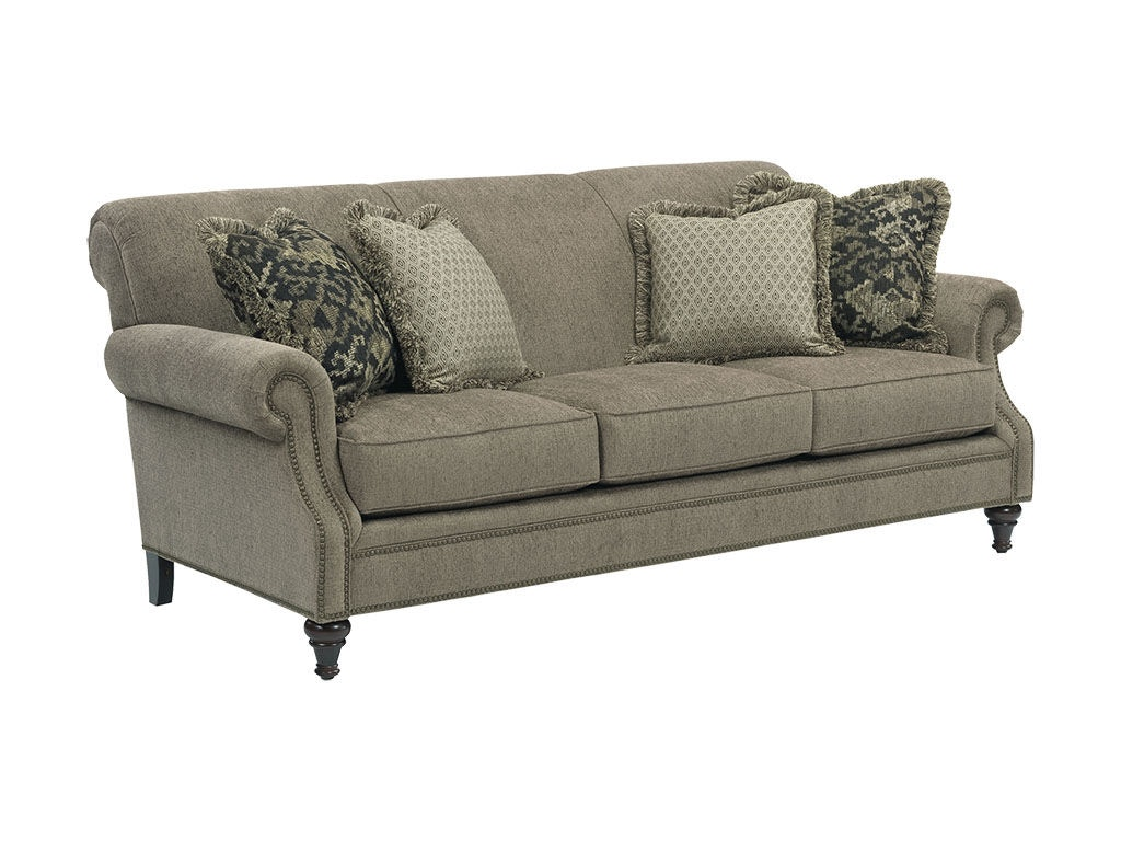Broyhill living room windsor sofa 4250 3 hickory for Broyhill chaise lounge cushions