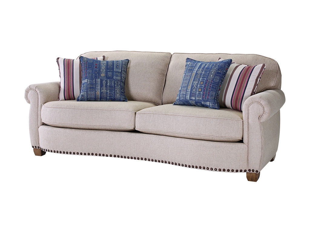 Broyhill Living Room New Vintage Sofa 4258 3 Carol House Furniture Maryland Heights And