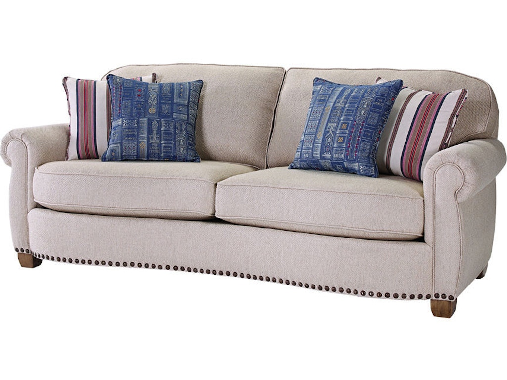 Broyhill Living Room New Vintage Sofa 4258-3 - Lynch Furniture ...