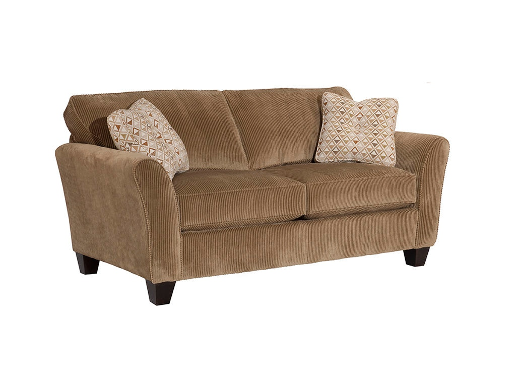 Broyhill living room maddie 74 sofa 6517 2 lynchs for Sofa bed 74 inches