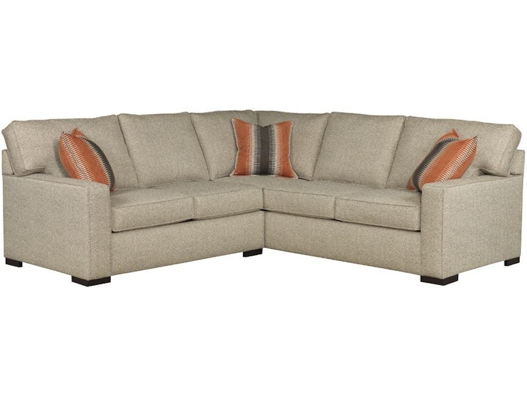 Broyhill Living Room 6636 Sectional Quality Furniture Murfreesboro Tn