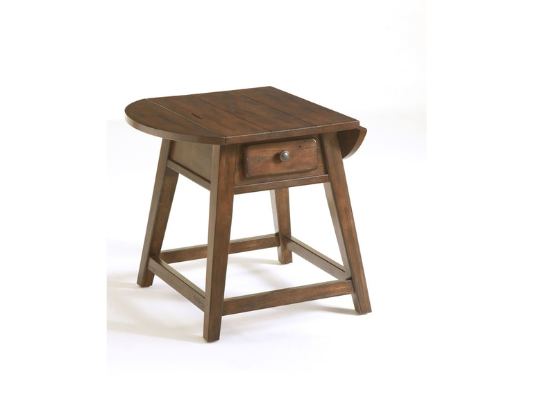 Broyhill Attic Heirlooms Splay Leg Table, Natural Oak Stain 322370