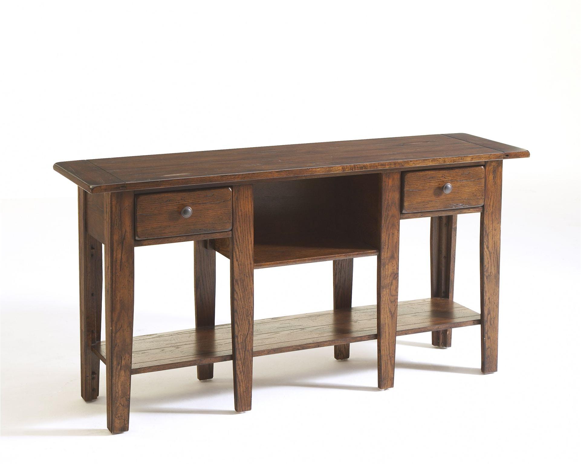 Broyhill Living Room Attic Heirlooms Sofa Table Rustic