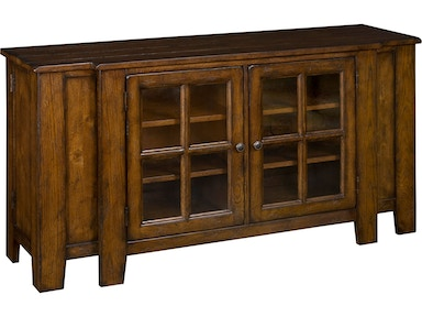 Broyhill Attic Heirlooms Entertainment Console, Rustic Oak 3399-67V
