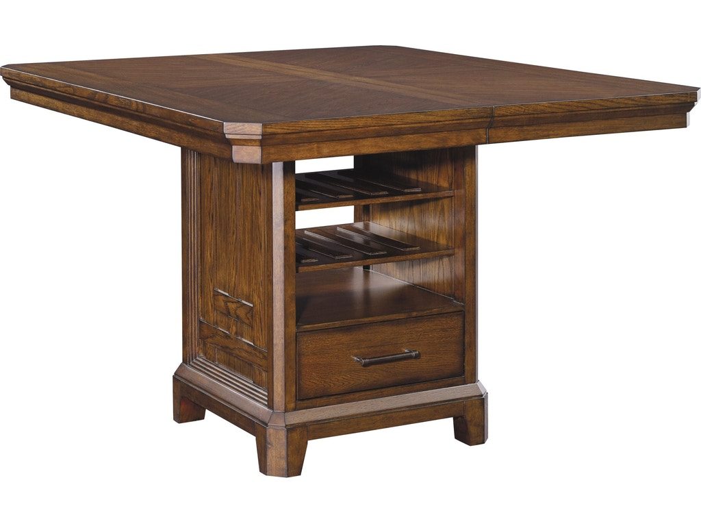 Broyhill Dining Room Estes Park Counter Height Table Base - Custom counter height table