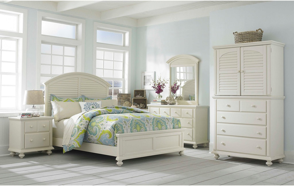 Broyhill Bedroom Seabrooke Bed 4471 Bed Burke Furniture Inc Lexington Ky