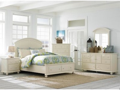 Broyhill Seabrooke Storage Panel Bed 4471 STORAGE BED