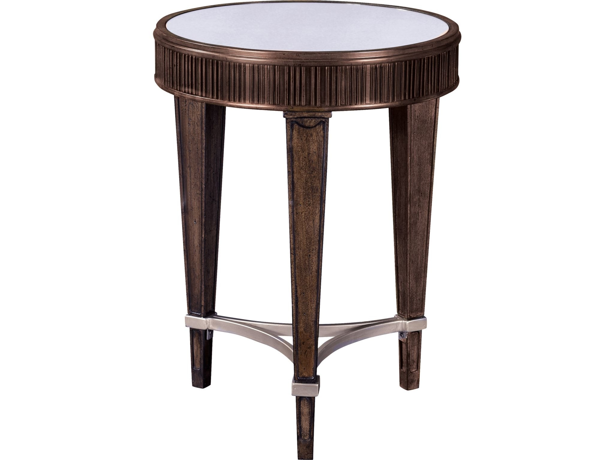 Broyhill Living Room Cashmera Round Chairside Table 4860 004   B.F. Myers  Furniture   Goodlettsville And Nashville Area, TN