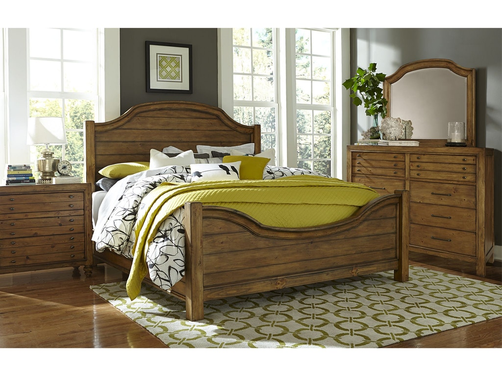 Broyhill bedroom bethany square panel footboard king for Bedroom furniture 28117