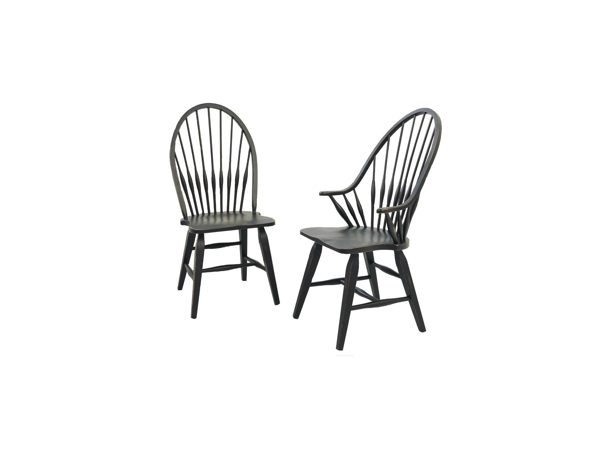 Broyhill Dining Room Attic Heirlooms Side Chair, Antique