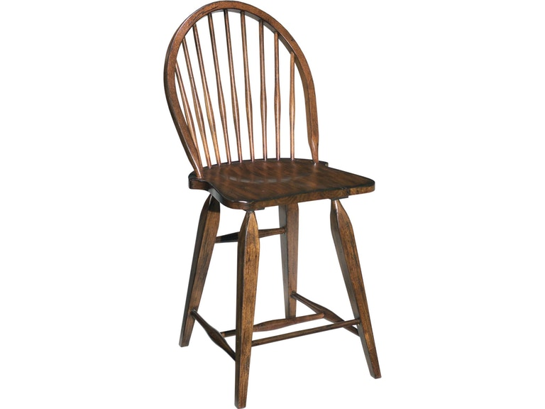 "Broyhill Attic Heirlooms Windsor 24"" BarStool 454494"