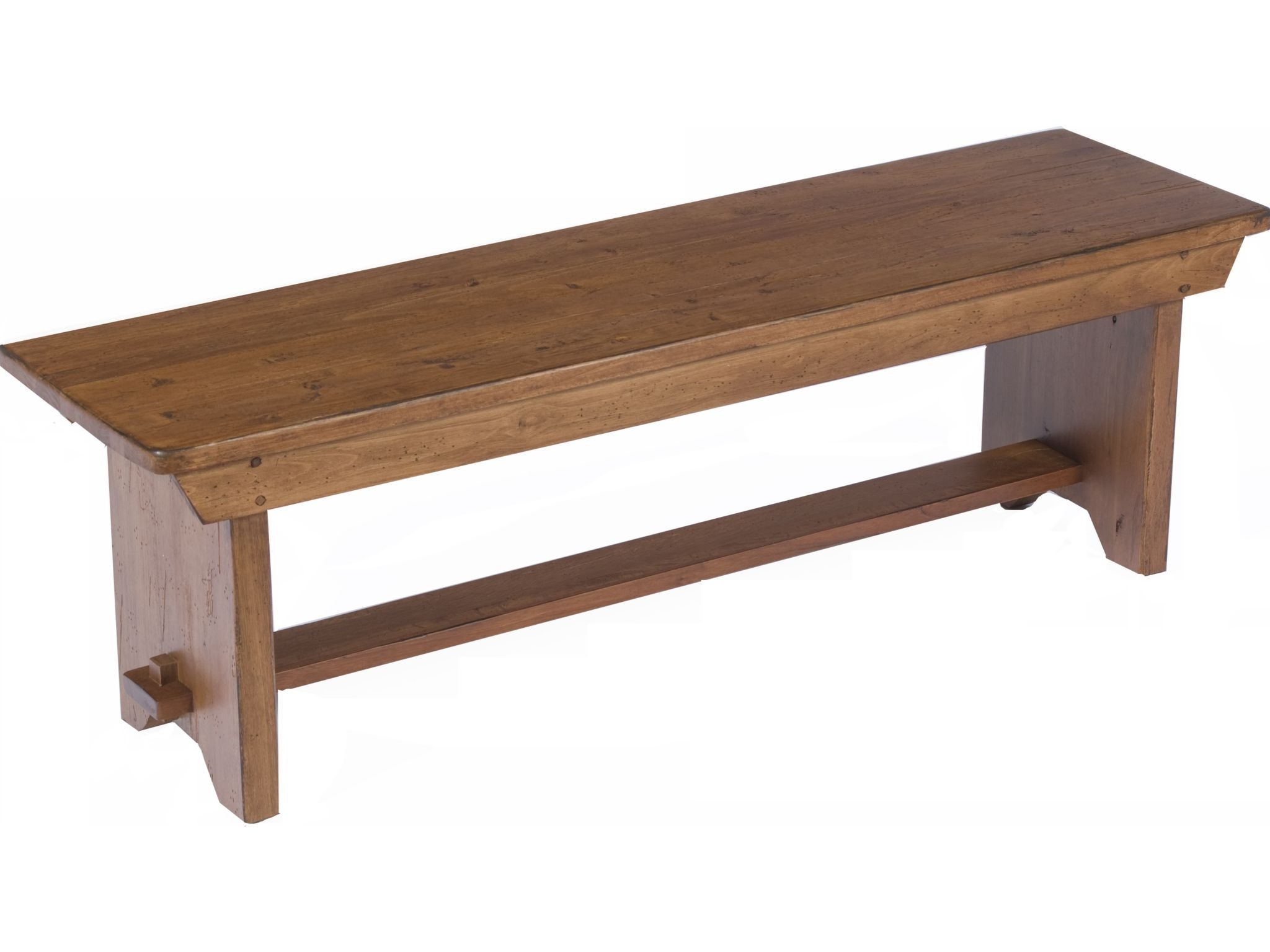 Broyhill Attic Heirlooms Dining Bench, Rustic Oak 5399 96V