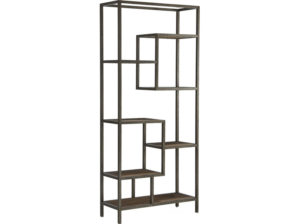 Broyhill living room rutledge street step shelf etagere for Dining room etagere