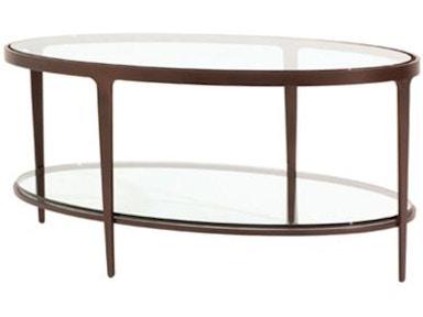 Charleston Forge Living Room Ellipse Tail Table