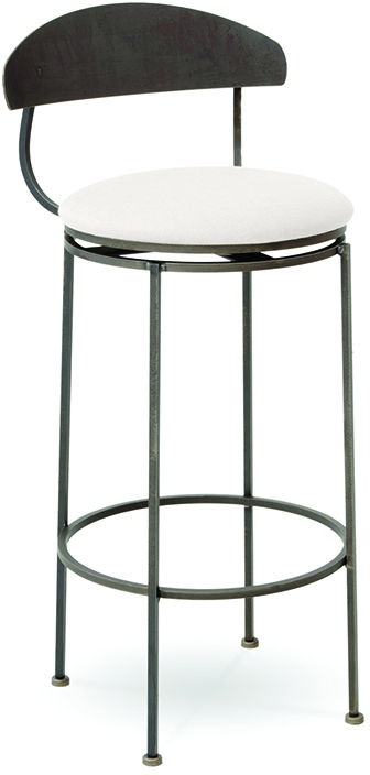 Charleston Forge Bar And Game Room Echo Swivel Bar Stool