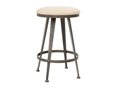 Charleston Forge Aires Backless Swivel Bar Stool C863