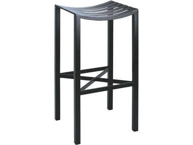 Charleston Forge Parsons Metal Seat Bar Stool C979
