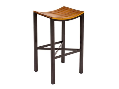 Charleston Forge Parsons Wood Seat Bar Stool C981