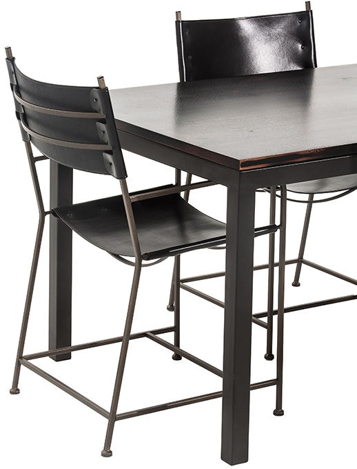 Charleston Forge Dining Room Parsons Dining Table T401