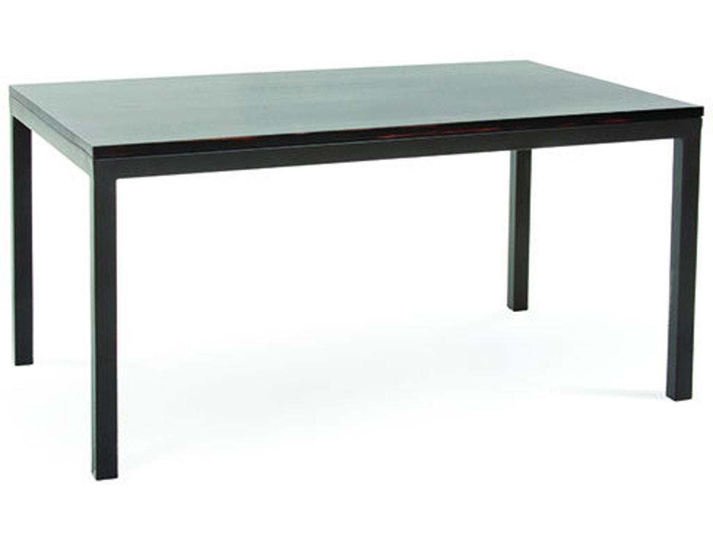 Charleston Forge Dining Room Parsons Dining Table T401 Hickory Furniture Mart Hickory Nc