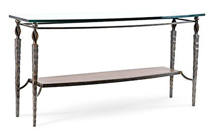Charleston Forge Living Room Winston Console Table T875 Studio 882