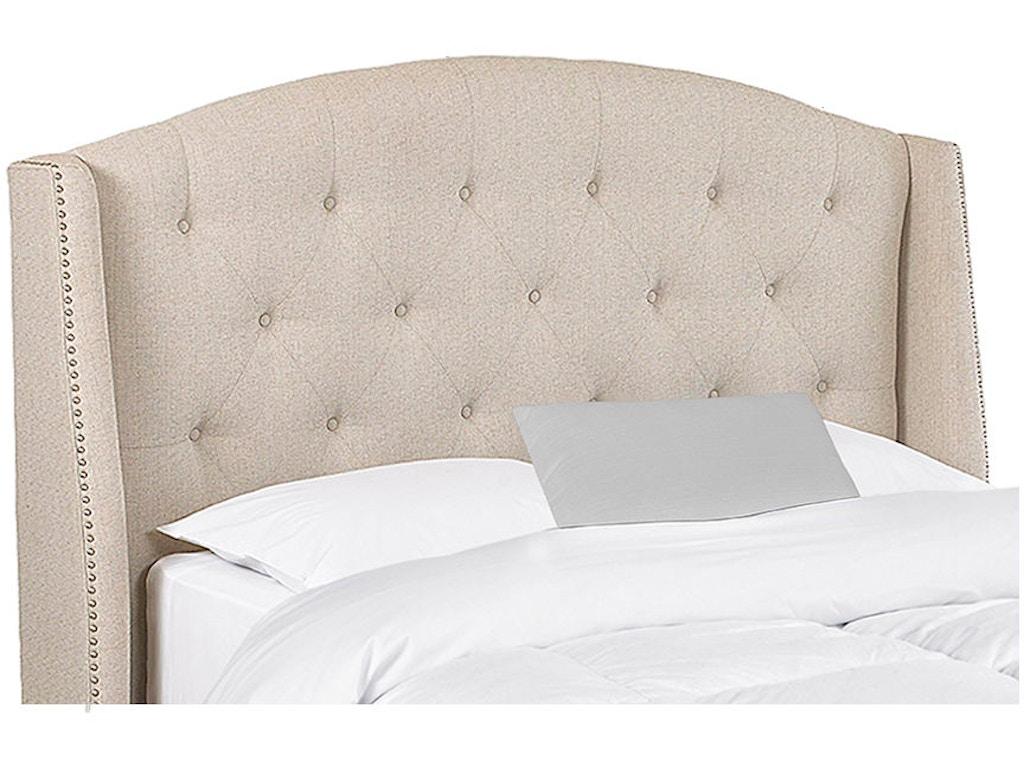 Klaussner bedroom harvard bed 188 050 hdbrd hanks fine - Bedroom furniture little rock ar ...
