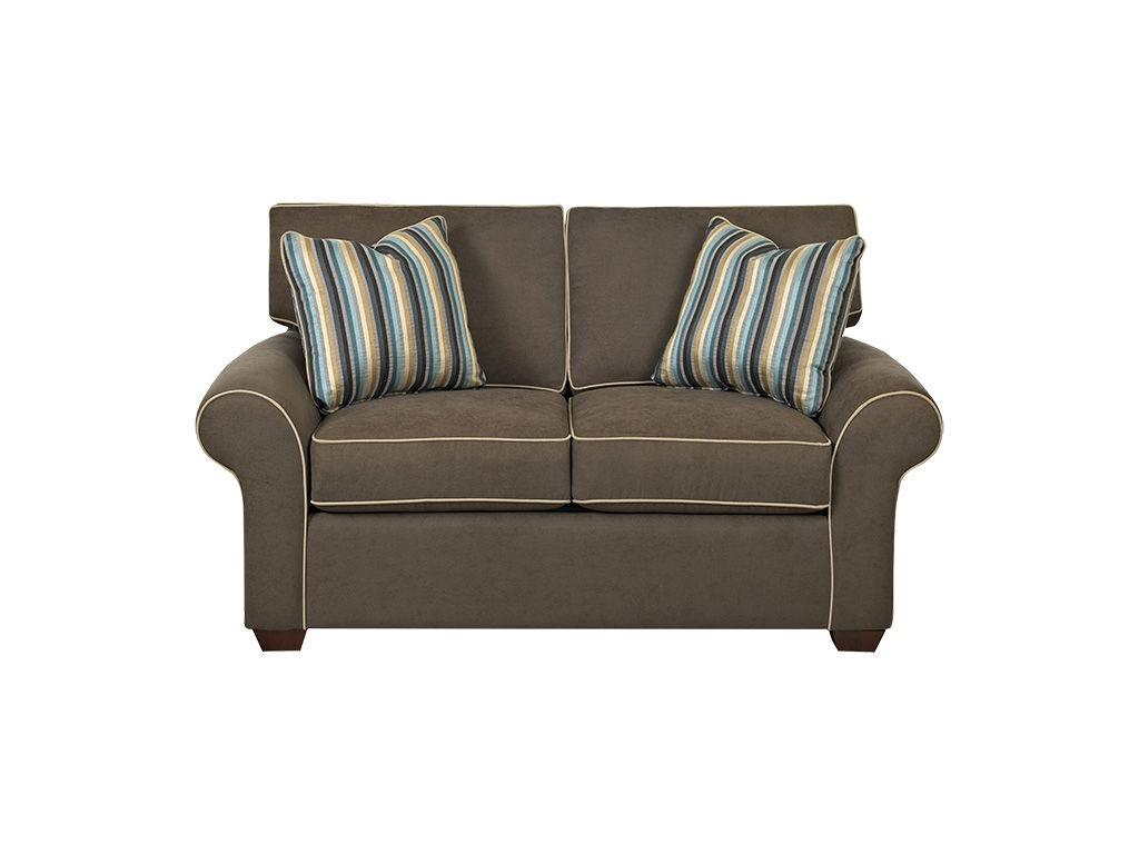 Klaussner Living Room Patterns Loveseat 19000 Ls Hanks Fine Furniture Bentonville Ar