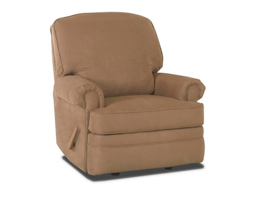 Klaussner Living Room Stanley Swivel Glider Recliner