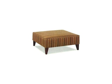 Klaussner Living Room Squared Ottoman