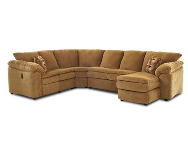 Klaussner Living Room Legacy Fabric Sectional