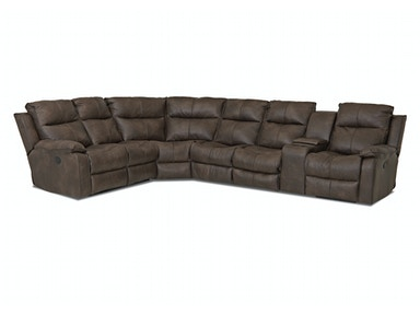 Klaussner Living Room Castaway Sectional