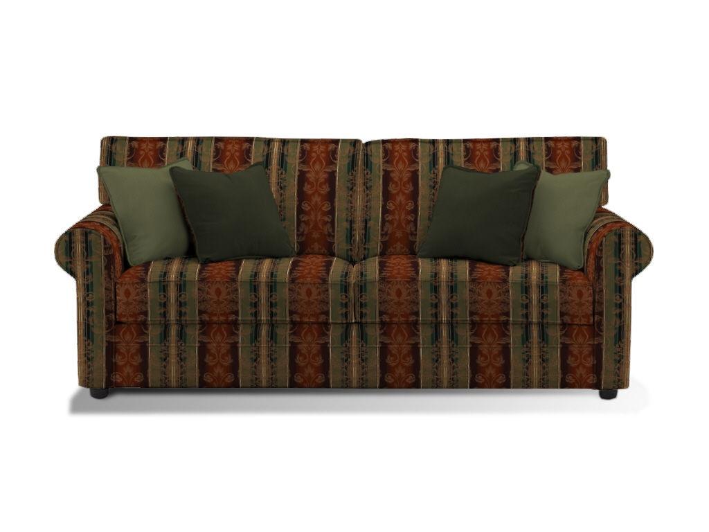 Klaussner Living Room Comfy Sofa 36300M S - Kaplans Furniture ...