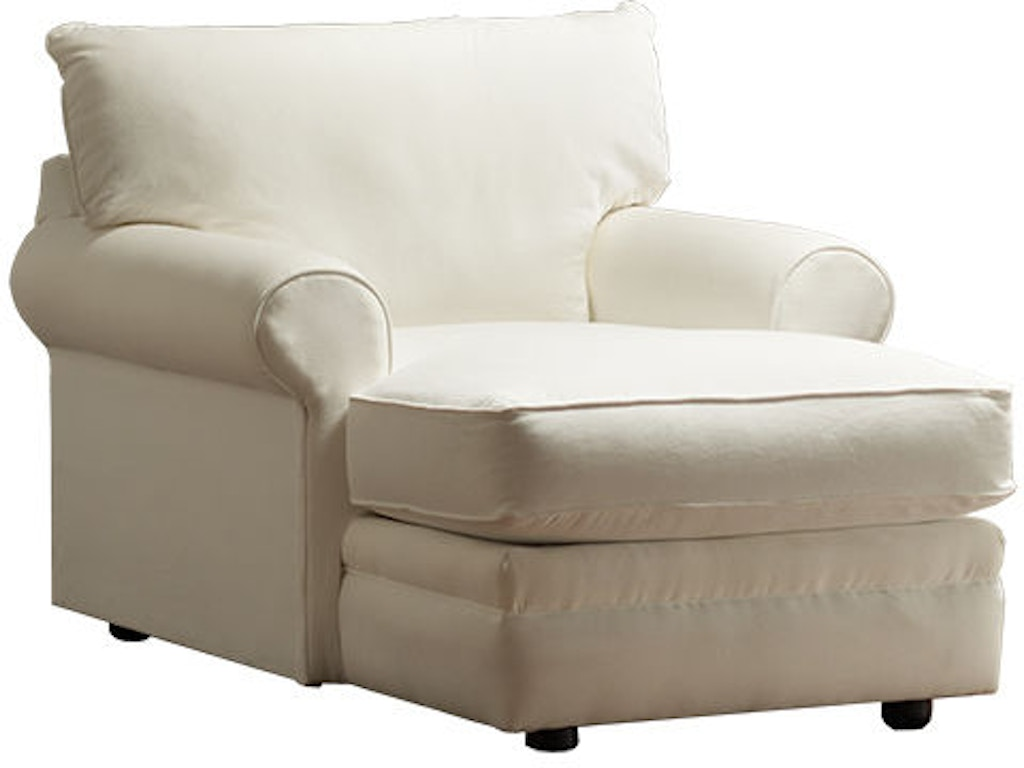 Klaussner Living Room Comfy Chaise Lounge 36300np Chase Feceras Furniture Mattress Sinking