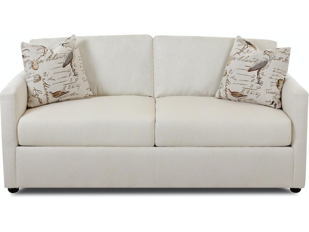 Klaussner Living Room Jacobs Dreamquest Queen Sleeper 3700 Dqsl Hanks Fine Furniture