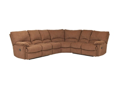 Klaussner Living Room Weatherstone Sectional