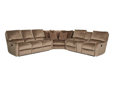 Klaussner Living Room Cortina Sectional