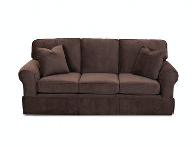 Klaussner Living Room Woodwin Sofa