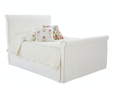Klaussner Bedroom Midland Slipcover Bed