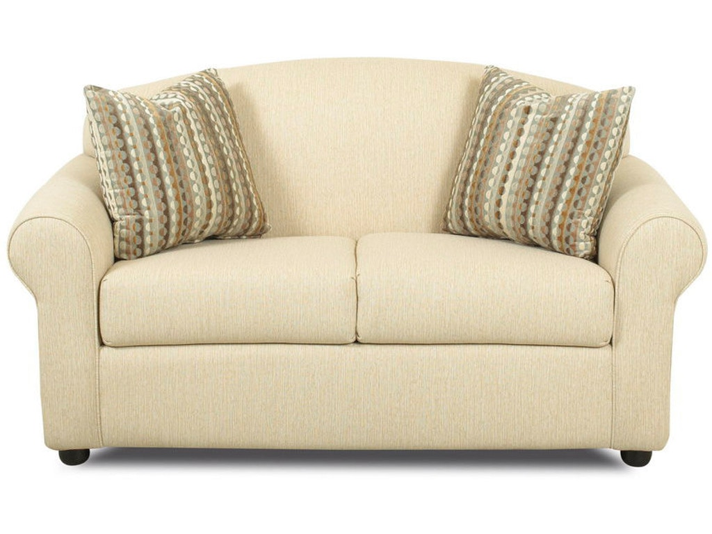 Klaussner Living Room Possibilities Loveseat 500 Ls Hanks Fine Furniture Bentonville Ar