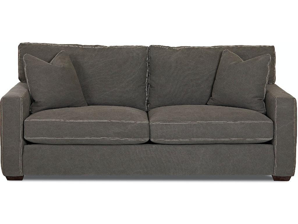 Klaussner living room homestead d61590 s hamilton sofa for D furniture galleries rockville md
