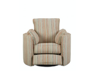 Klaussner Living Room Ryder Swivel Recliner