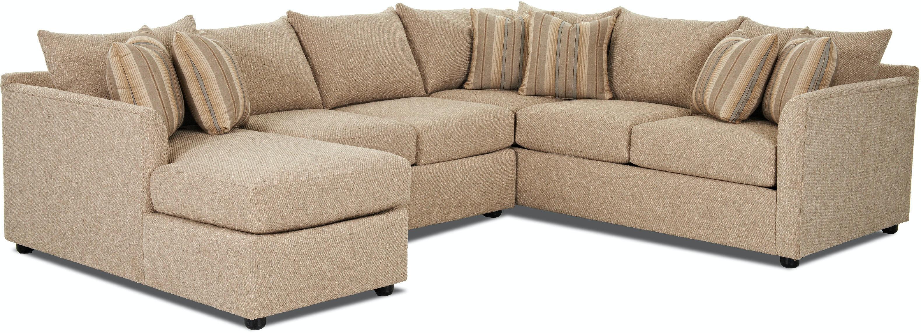 Furniture Village Atlanta klaussner living room atlanta sectional k27800l s - smith village