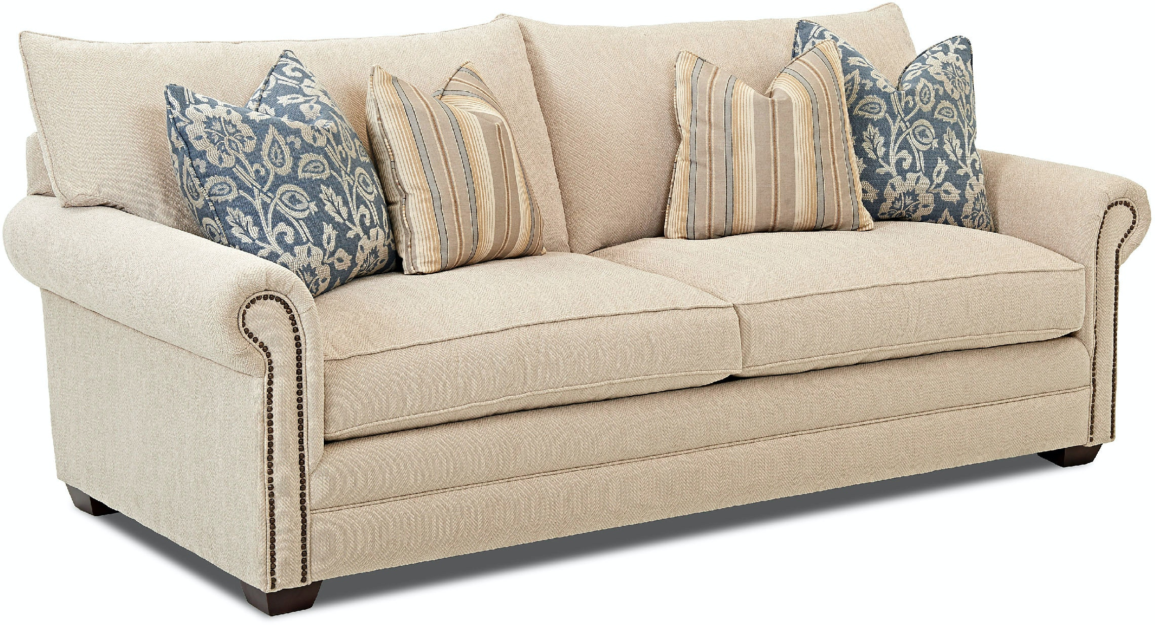 Living Room Furniture Erie Pa klaussner living room huntley sofa d41610 s - erie pa, meadville