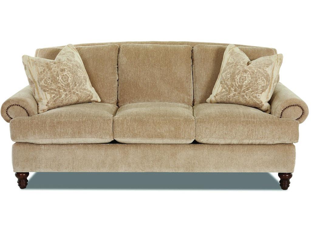 Klaussner living room beckett d99510 s hamilton sofa for D furniture galleries rockville md