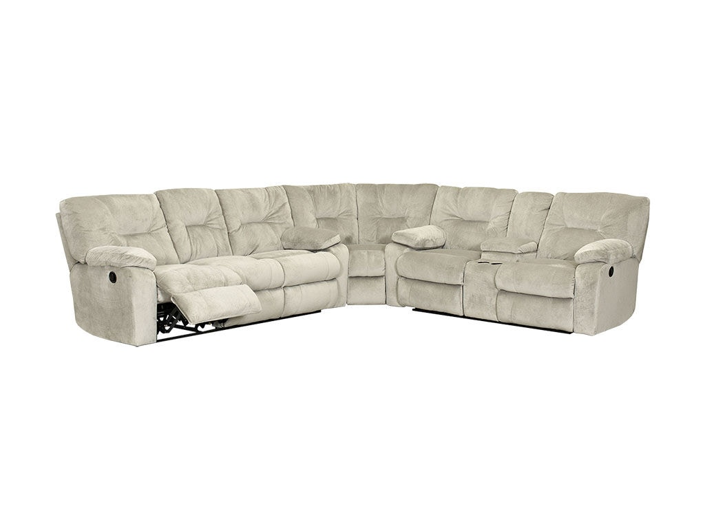 Klaussner Living Room Toronto Sectional 57703 FAB SECT   Kamin Furniture    Victoria, Texas